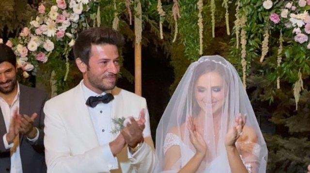 Oya Unustası ile Ahmet Tansu Taşanlar evlendi - Magazin haberleri