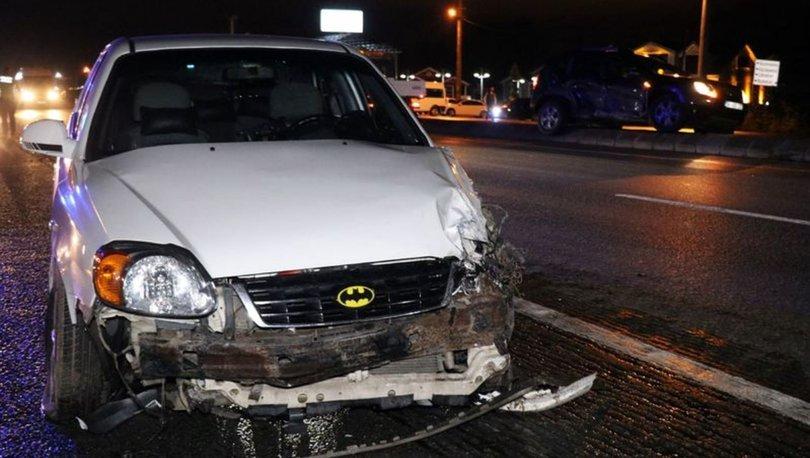 Sakarya'da otomobil ile cip çarpıştı: 1'i çocuk 6 yaralı