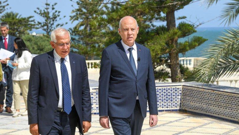 AB Yüksek Temsilcisi Borrell'den Tunus açıklaması:
