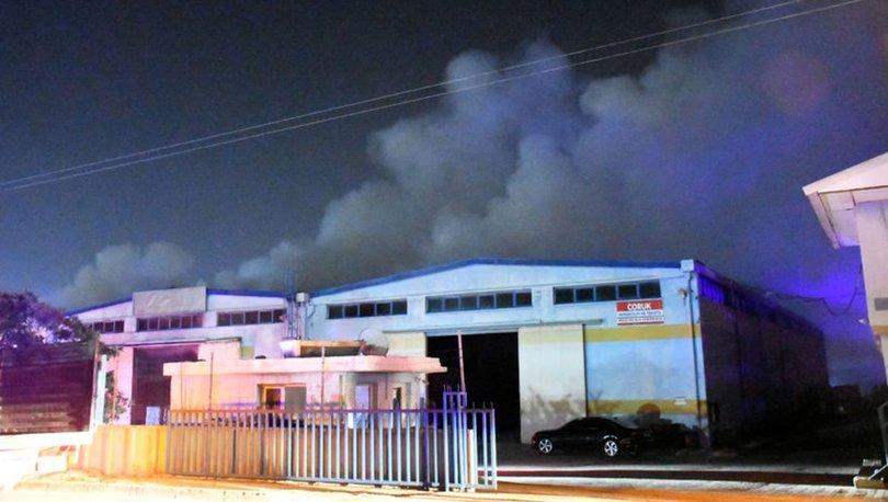 Adana'da tekstil fabrikasında çıkan yangın söndürüldü