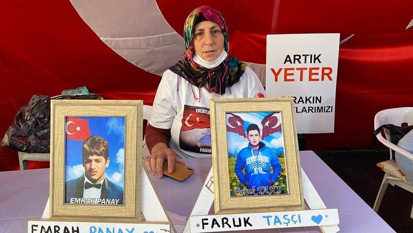 Oğlu terör örgütü PKK tarafından kaçırıldı