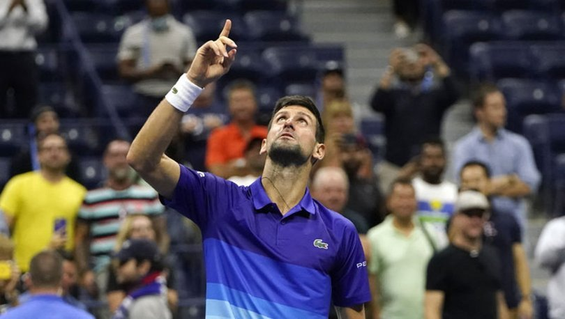 ABD Açık tek erkekler finalinde Djokovic ile Medvedev karşılaşacak