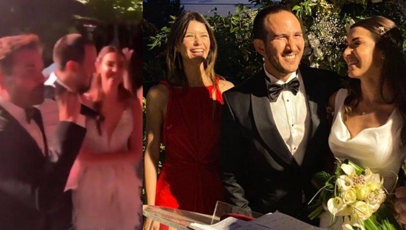 Beren Saat'in ilk aşkı Efe Güray'ın kardeşi Yaman Güray evlendi: Düğünde Kenan Doğulu rüzgarı - Magazin