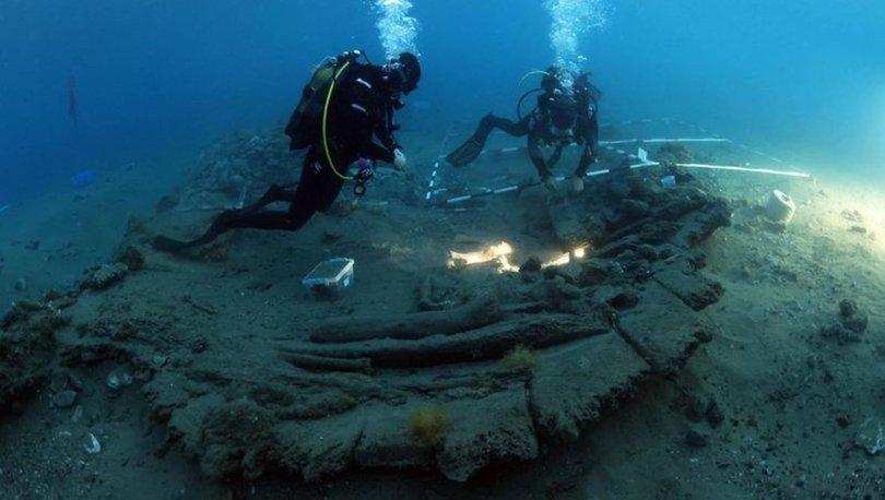 Su altı kazılarında Osmanlı savaş gemisi gün yüzüne çıkarılıyor