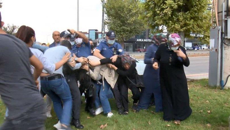 Bursa'da son dakika: Keşif sırasında kadın sürücüye saldırdılar!