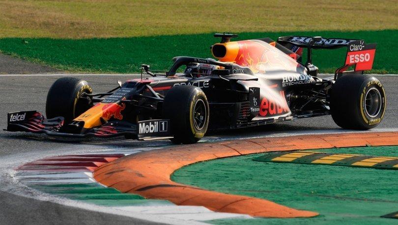 F1 İtalya Grand Prix'sine Max Verstappen ilk sırada başlayacak