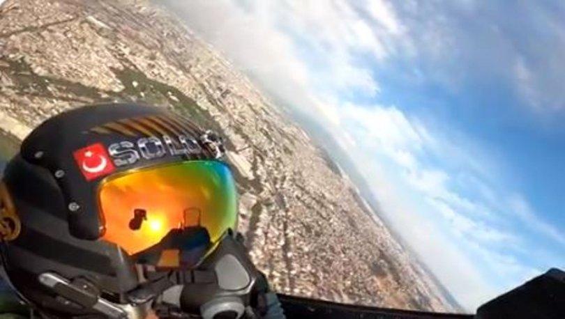 Milli Savunma Bakanlığı SOLOTÜRK F-16 Gösteri ekibinin gösteri videosunu paylaştı