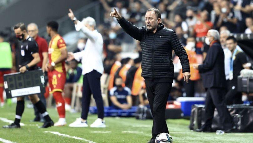 """Sergen Yalçın: """"Dortmund karşısında güzel bir sonuç almaya çalışacağız"""""""