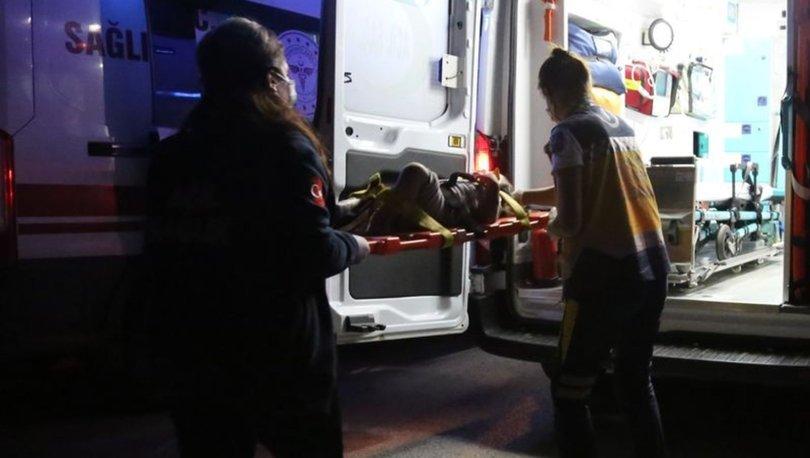 Tankere çarpan otomobildeki Kumsal yola fırladı: Aynı aileden 3 yaralı