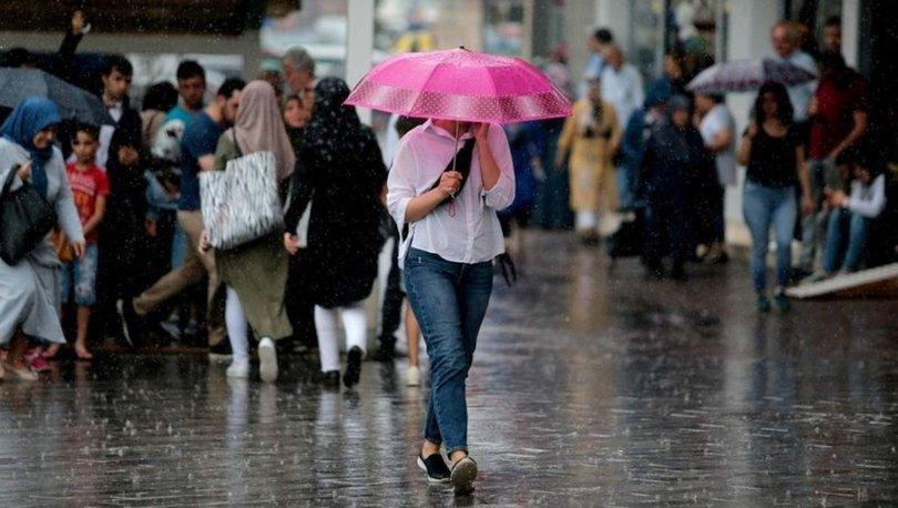YAĞMUR GELİYOR! Son dakika hava durumu: 3 bölgede 7 ile uyarı - Meteoroloji