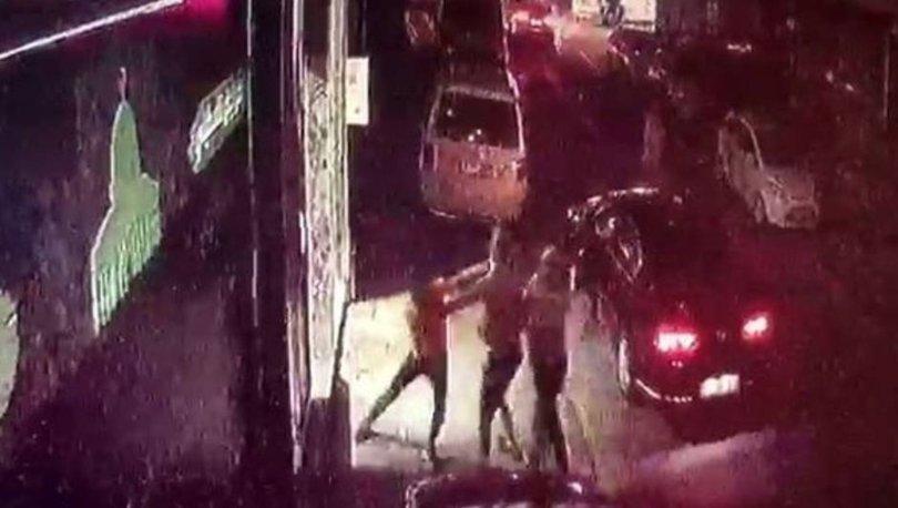 Son dakika: Bıçaklı saldırı kamerada! VİDEO