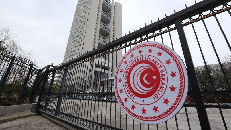 Ticaret Bakanlığı ağustosta 621 firmaya dahilde işleme izin belgesi verdi