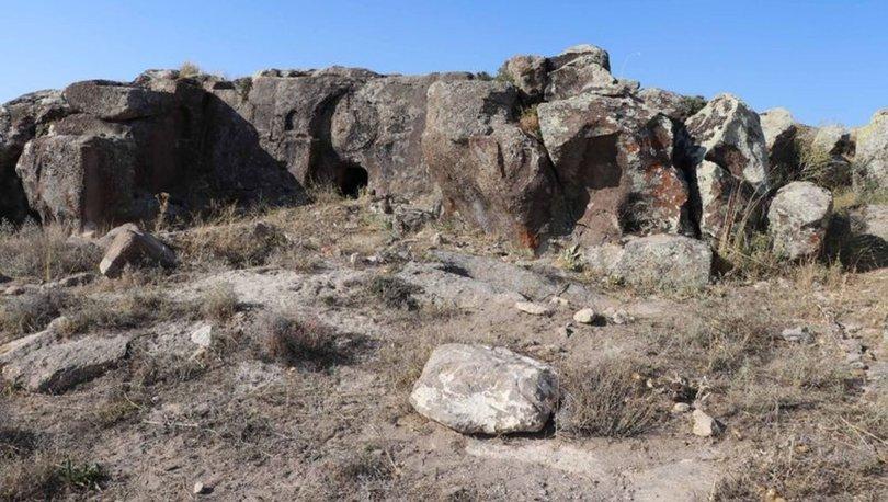 Son dakika: Roma dönemi kaya mezarları talan edildi - Kayseri haberleri
