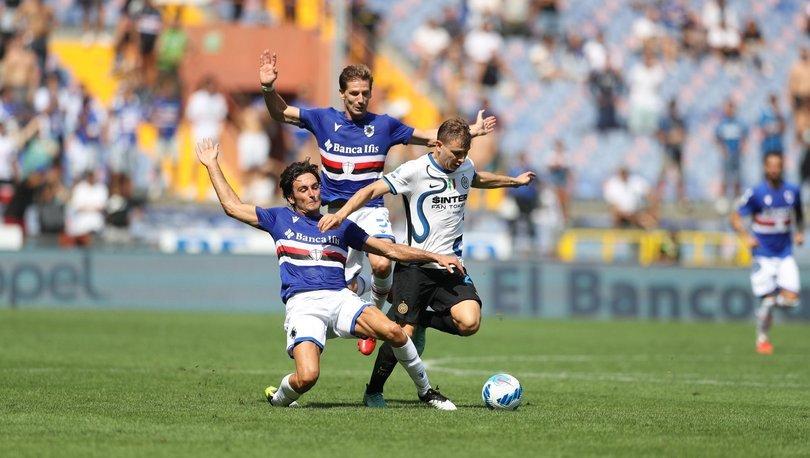 Hakan Çalhanoğlu'lu Inter, Sampdoria deplasmanında takıldı