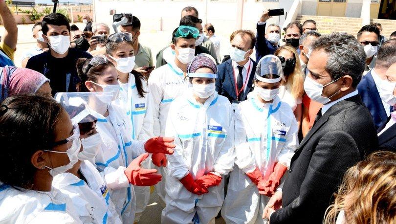 SON DAKİKA! Bakan Özer'den flaş yüz yüze eğitim açıklaması - Haberler