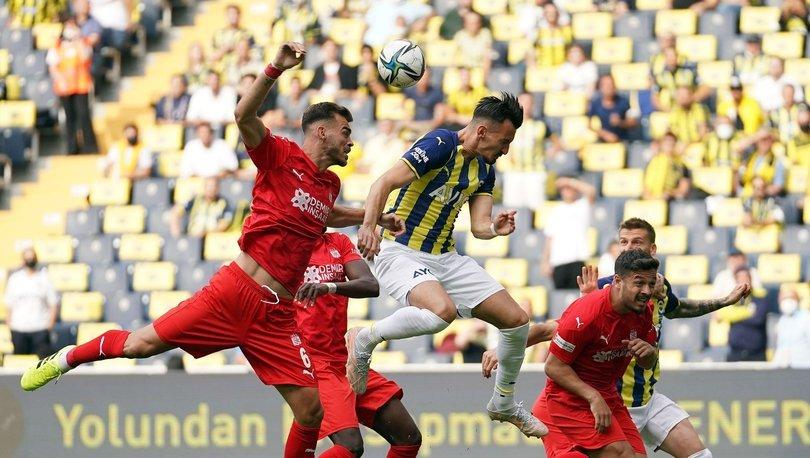 Fenerbahçe: 1 - Sivasspor: 1   MAÇ SONUCU