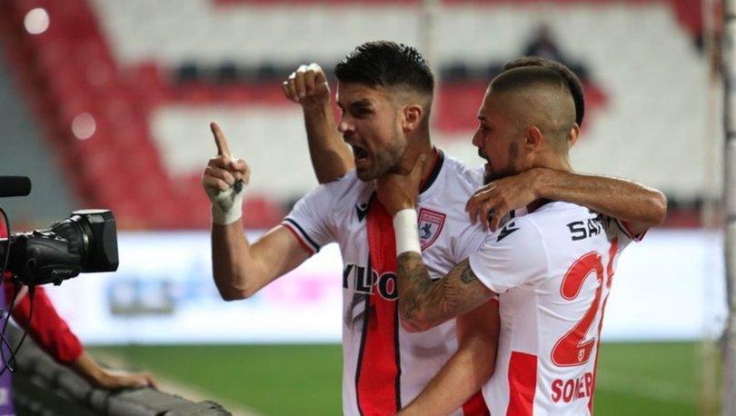 Yılport Samsunspor: 2 - Ankara Keçiörengücü: 0