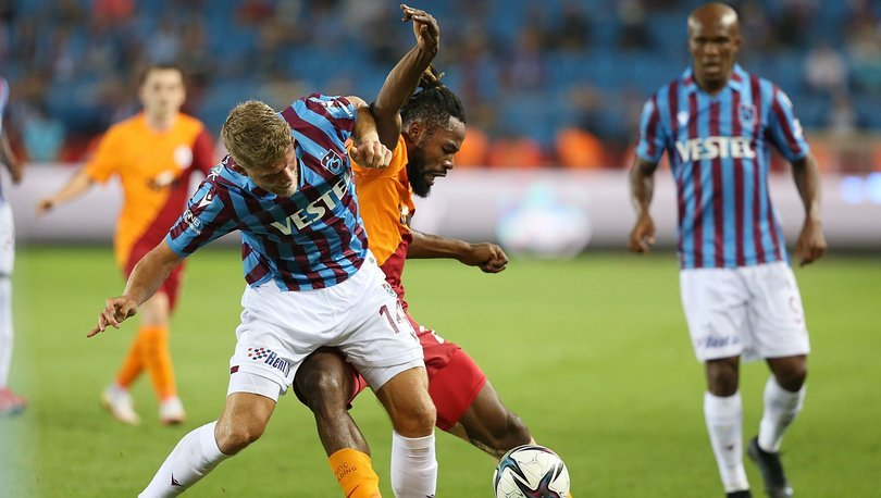 Trabzonspor: 2 - Galatasaray: 2 | MAÇ SONUCU
