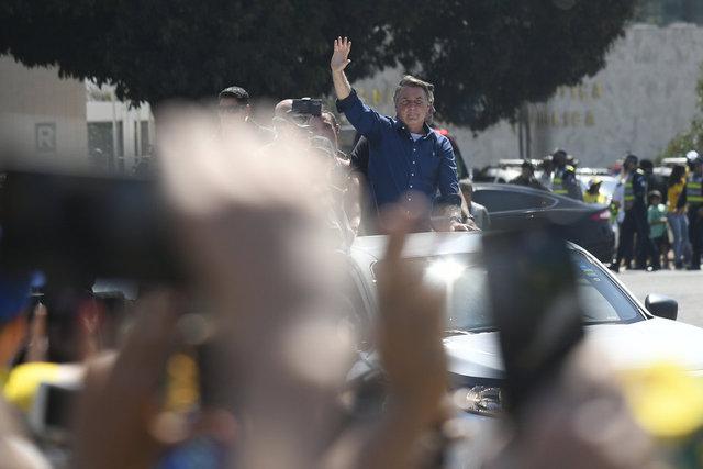 SON DAKİKA HABERLER! Brezilya'da protestocular Devlet Başkanı Jair Bolsonaro karşıtı gösteriler için sokağa çıktı!