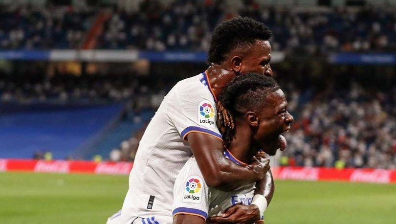 Real Madrid, Bernabeu'ya farklı galibiyetle döndü