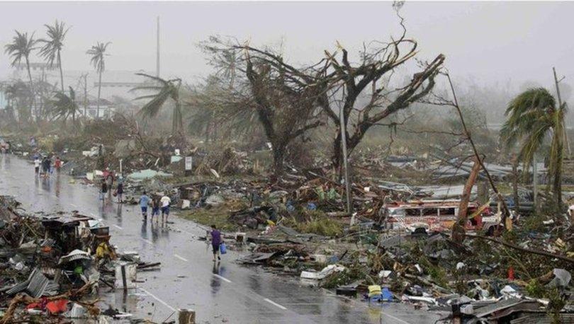 Türkiye'den Filipinler'deki tayfun felaketi için taziye mesajı