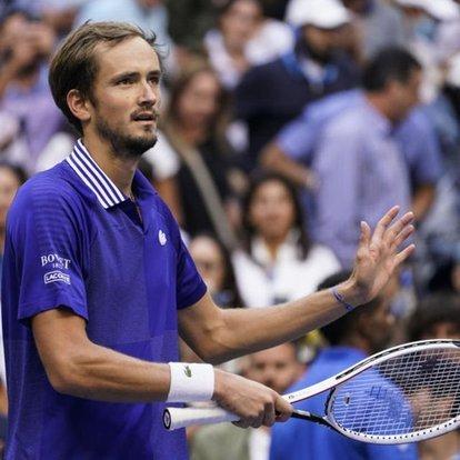 ABD Açık'ta şampiyon Daniil Medvedev