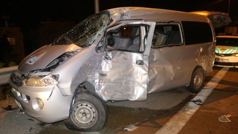 Adana'da otobanda zincirleme trafik kazası: 9 yaralı