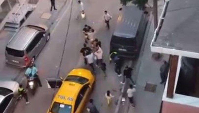 MEYDAN KAVGASI... Son dakika: Takside başlayan kavga sokağa taştı