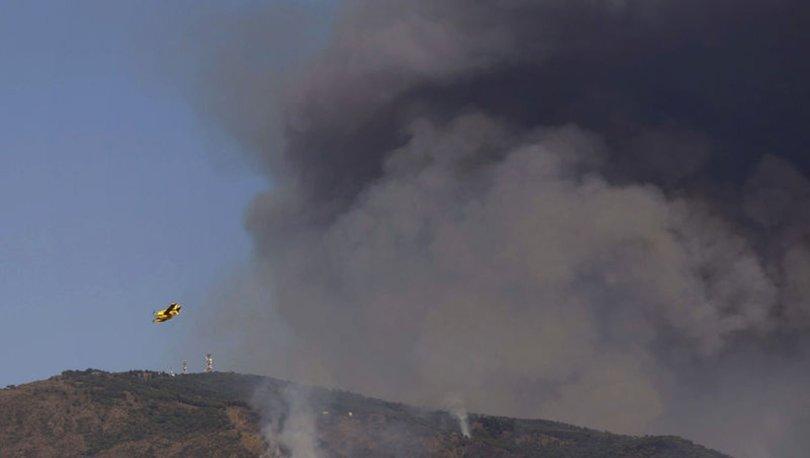 SON DAKİKA: İspanya'da orman yangınlarına ordu müdahale ediyor! Binlerce kişi tahliye edildi!