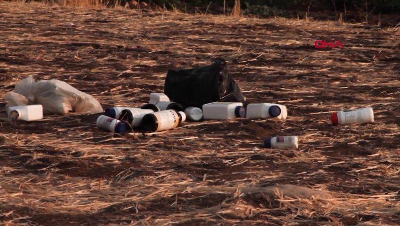 İLAÇ TEHLİKESİ... Son dakika: O atıklar Silopi'de doğayı tehdit ediyor
