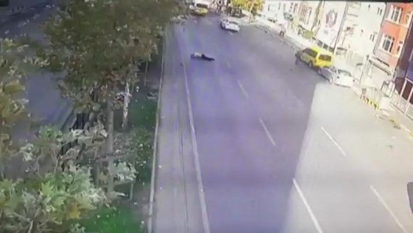 SON DAKİKA: Beyoğlu'nda çarptığı yayayı kontrol için taksiyle geri gelmiş