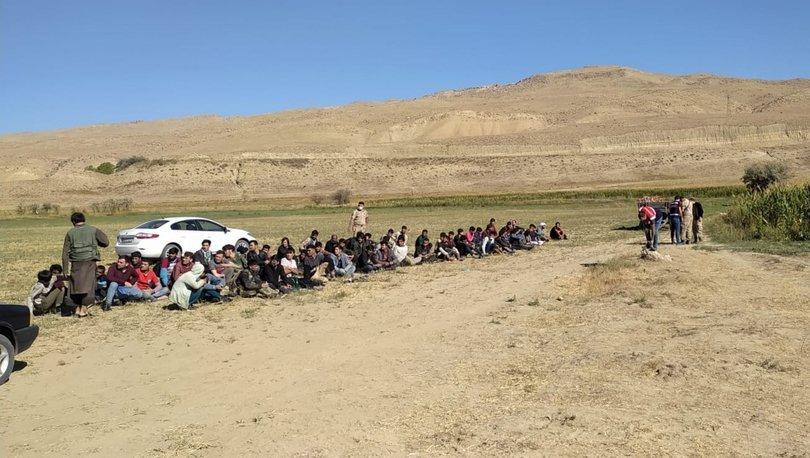 Göçmen kaçakçıları suçüstü yakalandı