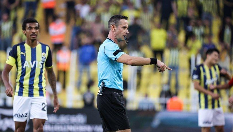 Son dakika haberi | Fenerbahçe'den hakem tepkisi