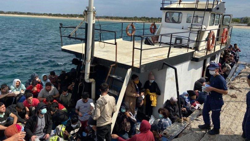 Ege Denizi'nde 251 düzensiz göçmen yakalandı - Haberler