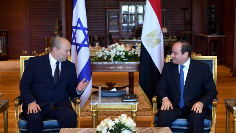 İsrail ve Mısır 10 yıl sonra ilk kez buluştu