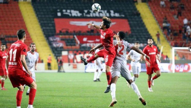 Gaziantep FK: 2 - Antalyaspor: 0 | MAÇ SONUCU