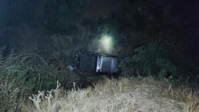 Aydın'da kamyonet uçuruma devrildi: 1 ölü