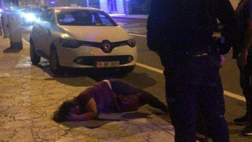BU KADARI PES, son dakika: Kadını döve döve bayılttı