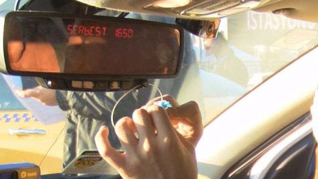 Taksilere yeni taksimetre yönetmeliği