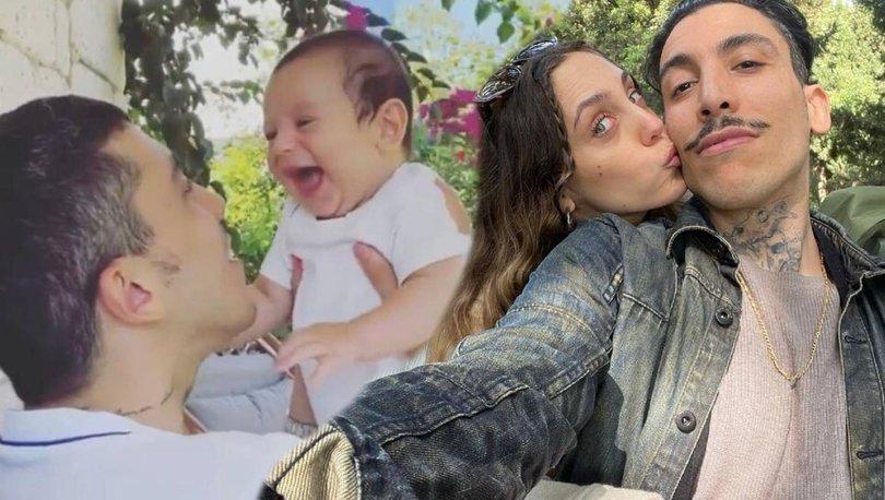 Öykü Karayel-Can Bonomo çifti oğulları Roman'ın yüzünü ilk kez gösterdi - Magazin haberleri