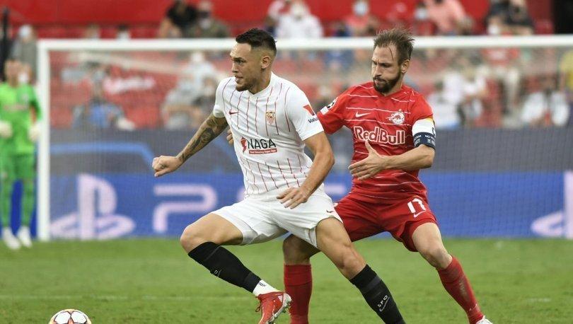 Şampiyonlar Ligi'nde tarihi maç: Sevilla Salzburg MAÇ ÖZETİ