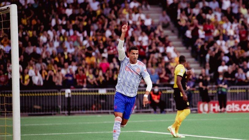 Ronaldo, Şampiyonlar Ligi'nde Messi'nin rekoruna ortak oldu