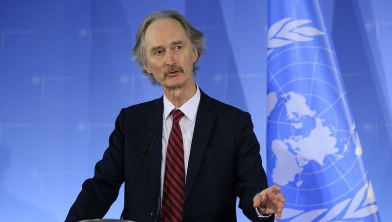BM Suriye Özel Temsilcisi Pedersen, Suriye muhalefeti liderleriyle görüştü