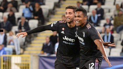 Juventus'a 45 dakika yetti