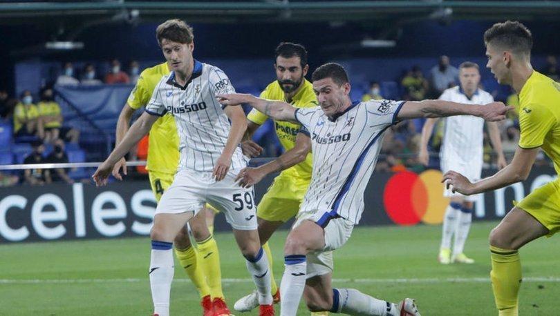 Villarreal: 2 - Atalanta: 2   MAÇ SONUCU