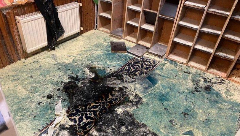 SON DAKİKA! Camiyi ateşe verdi, cemaatin dikkatinden kaçmadı