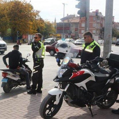 EGM'den yurt genelinde motosiklet ve motorlu bisiklet denetimi