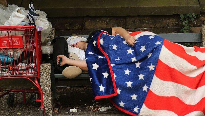 ABD'de yoksulluk 5 yılın ardından arttı