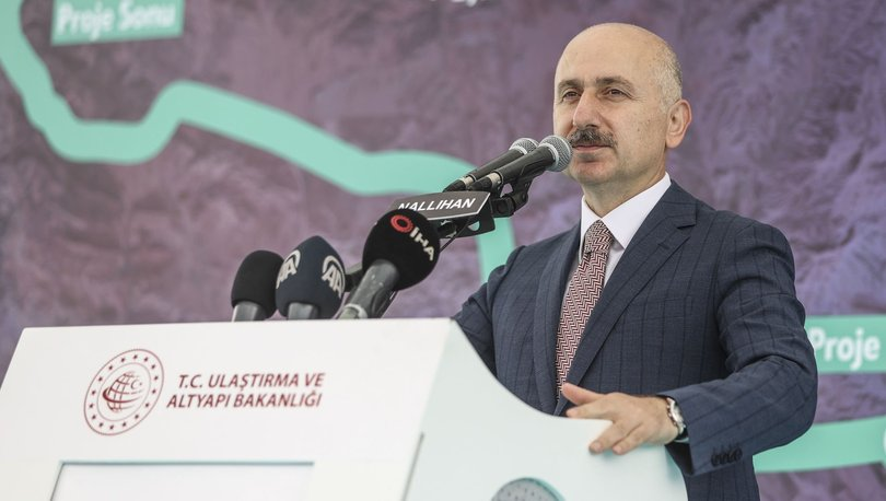 Ankara-Nallıhan güzergahında bölünmüş yol çalışmalarının tamamlanması için temel atıldı