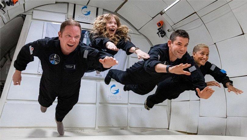 SON DAKİKA: Inspiration4: Dört amatör astronotun uzay yolculuğu için geri sayım başladı